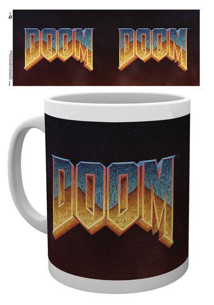 Doom Classic Mug Logo