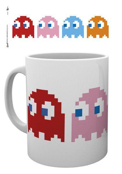 Pac-Man Mug Ghosts