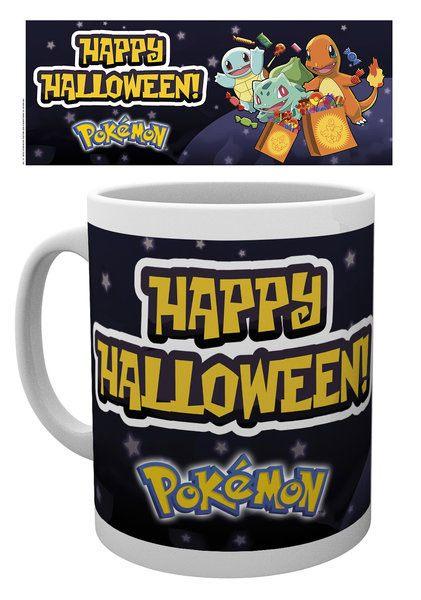 Pokemon Mug Halloween Starters