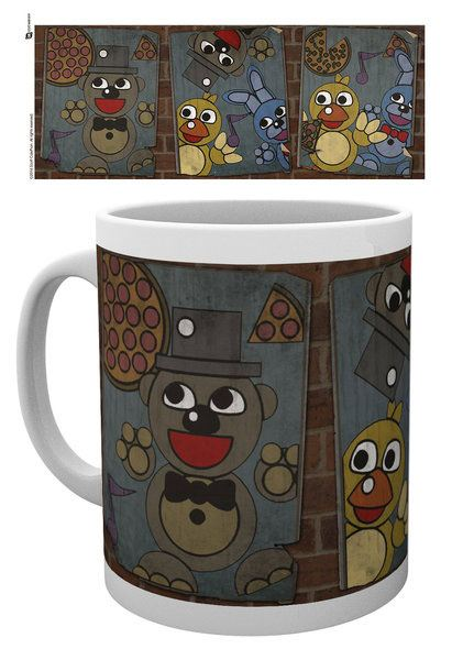 Five Nights at Freddy's Mug Vintage Posters