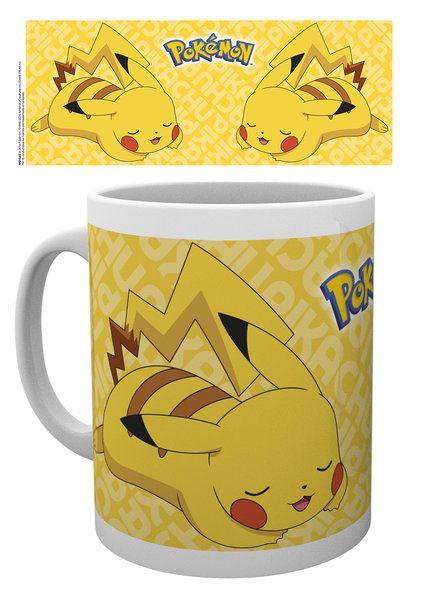 Pokemon Mug Pikachu Rest