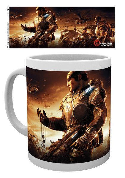 Gears of War 4 Mug Key Art