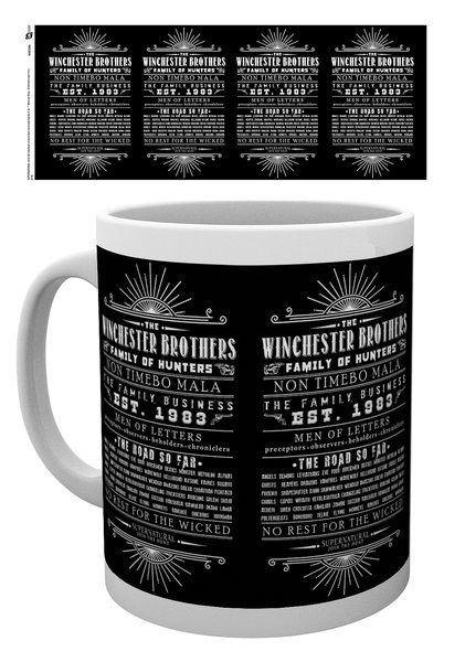 Supernatural Mug Family Business