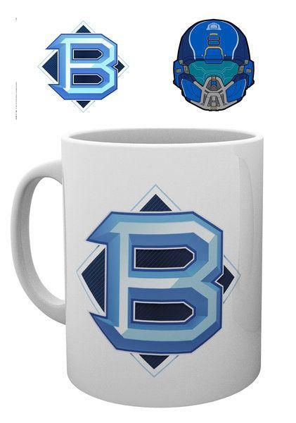 Halo 5 Mug PVP Blue