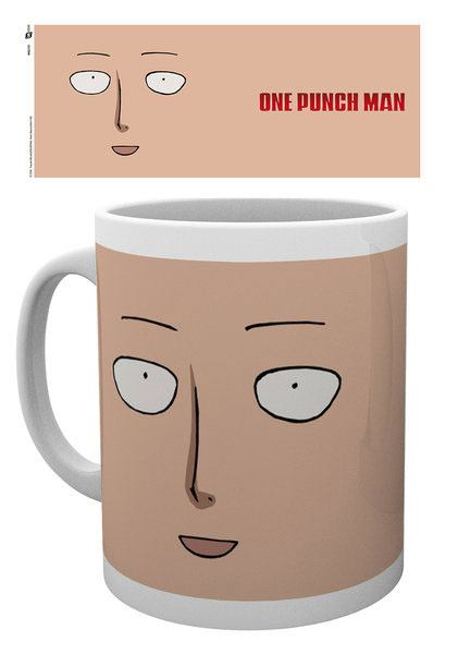 One Punch Man Mug Face