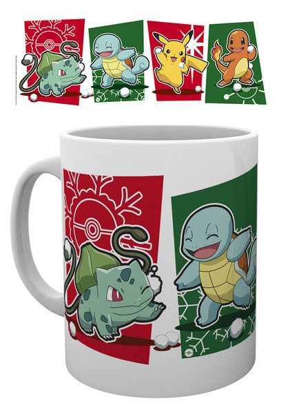 Pokemon Mug Snowball Starters