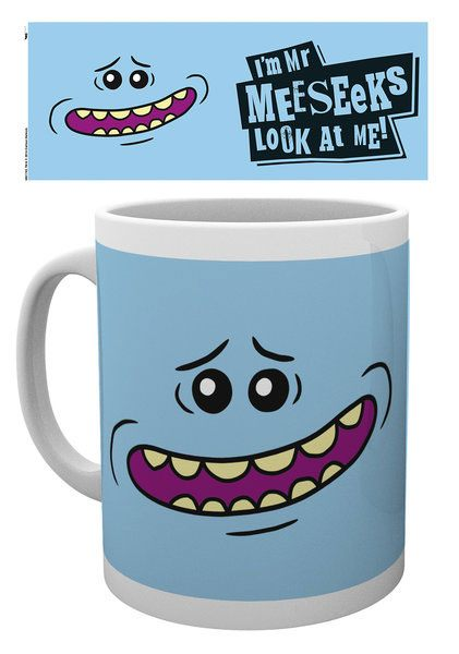 Rick and Morty Mug Mr Meeseeks