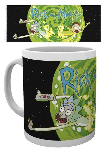 Rick and Morty Mug Logo
