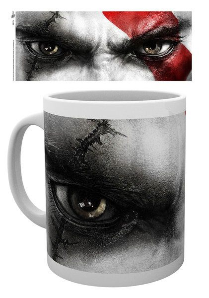 God of War Mug Kratos Eyes