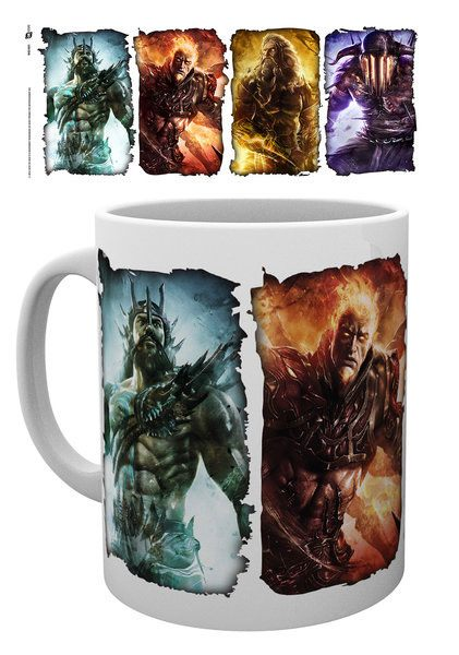God of War Mug Gods