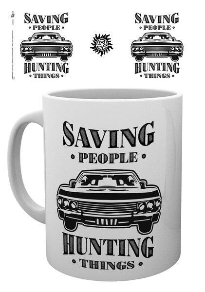 Supernatural Mug Hunting Things