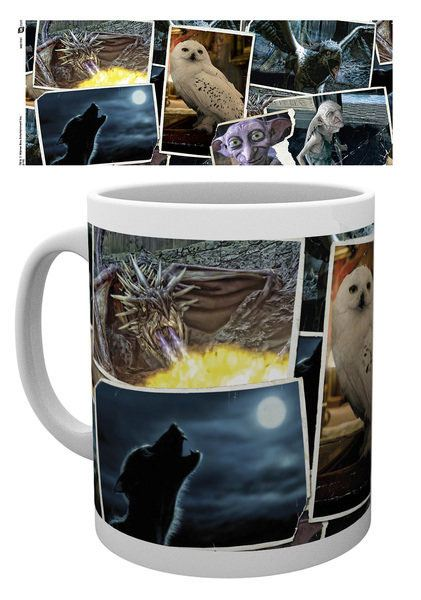 Harry Potter Mug Magical Creatures