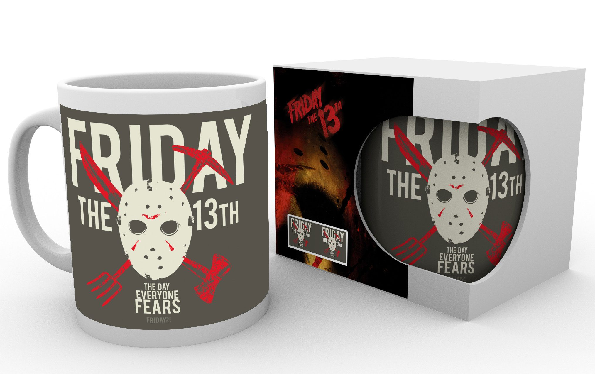 Friday the 13th Mug Jason heo Exclusive