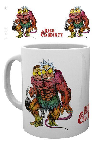 Rick and Morty Mug Demi Gorgon