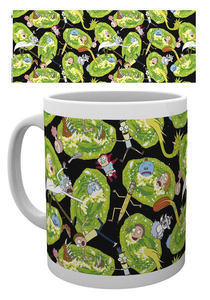 Rick and Morty Mug Portals