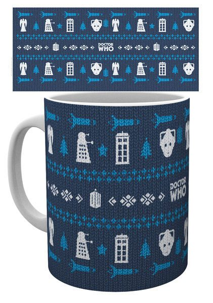 Doctor Who Mug Ugly Sweater