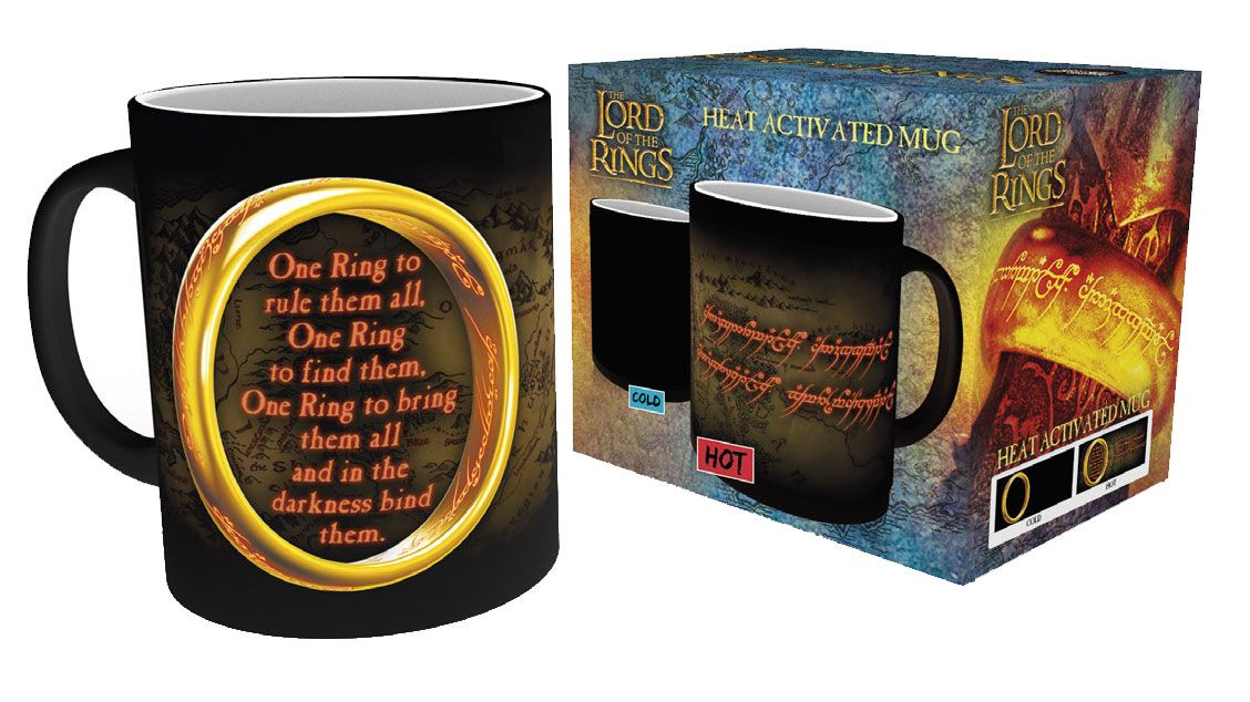 Lord of the Rings Heat Change Mug One Ring