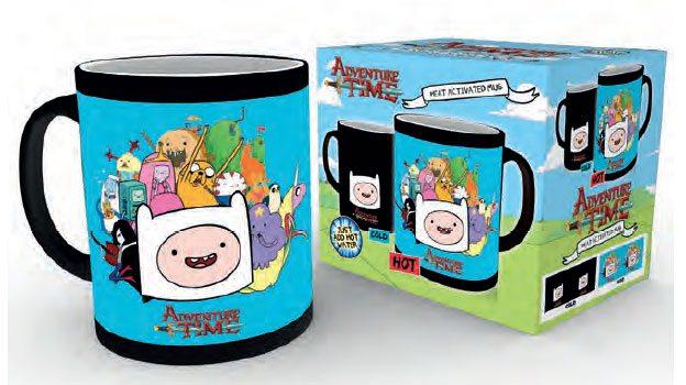 Adventure Time Heat Change Mug Characters
