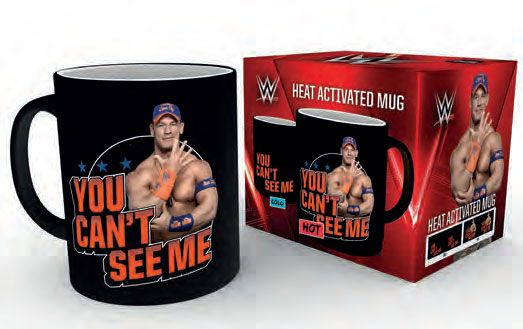 WWE Heat Change Mug John Cena