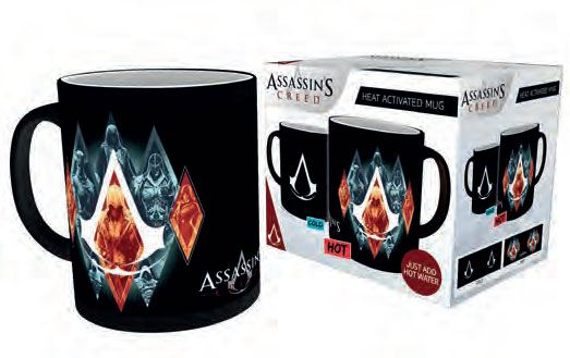 Assassin´s Creed Heat Change Mug Legacy
