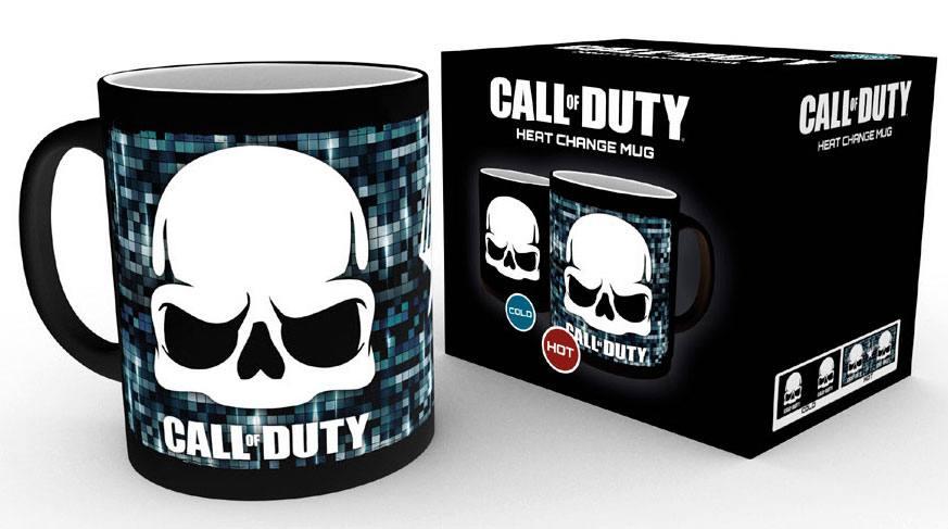 Call of Duty Heat Change Mug Skull