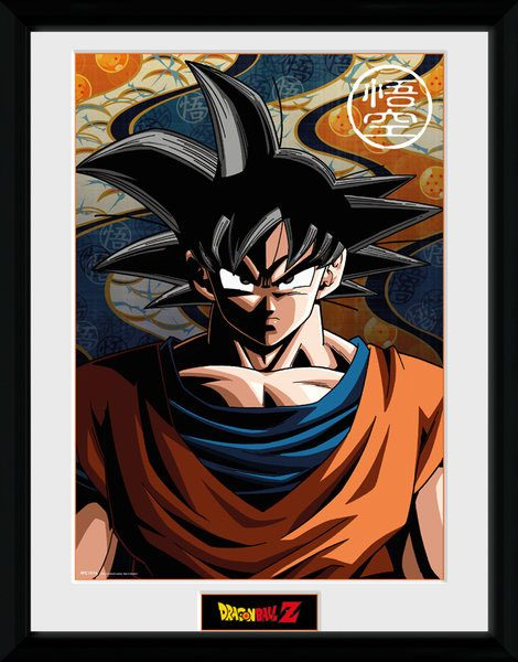 Dragonball Z Framed Poster Son Goku 45 x 34 cm