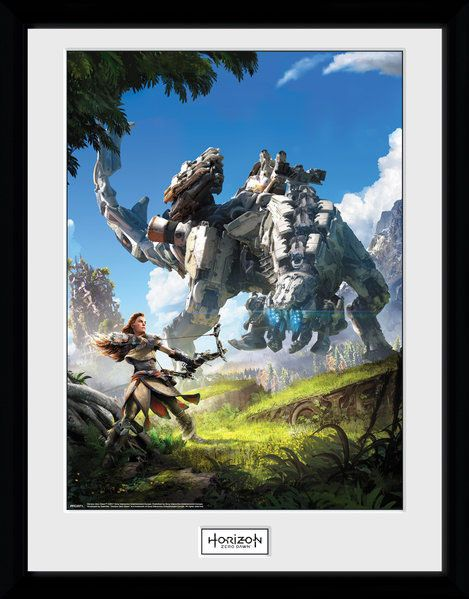 Horizon Zero Dawn Framed Poster Key Art 45 x 34 cm