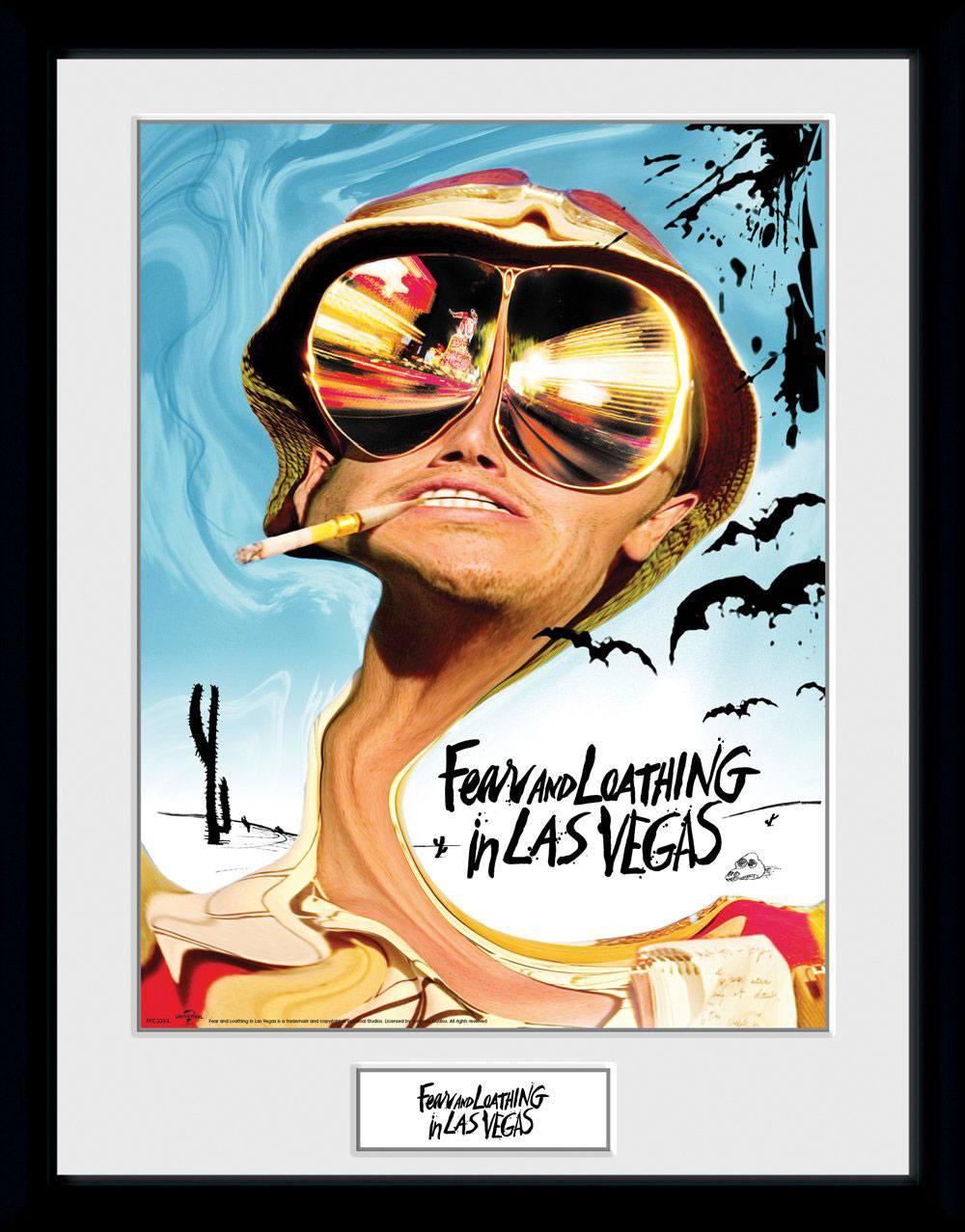 Fear and Loathing in Las Vegas Framed Poster Key Art 45 x 34 cm