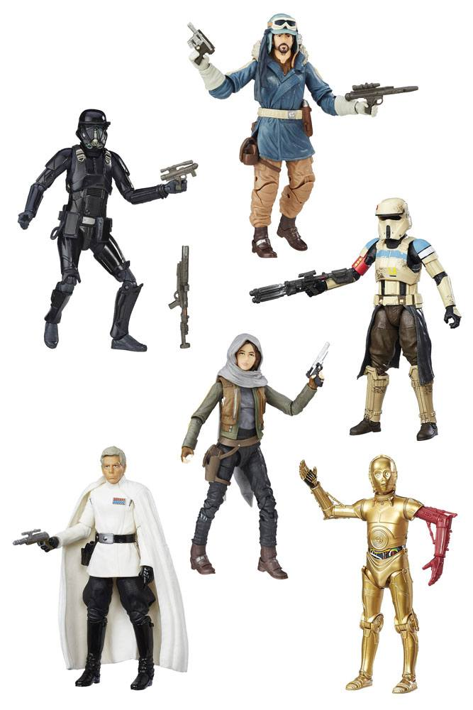 Star Wars Black Series Action Figures 15 cm 2016 Wave 4 Assortment (6)