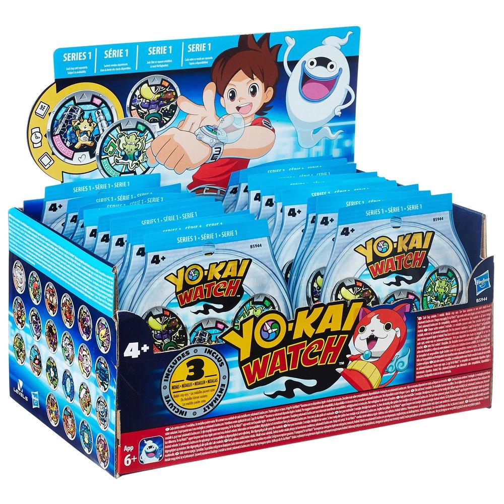 Yo-Kai Watch Medals 3-Pack Blind Bags 2016 Series 1 Display (24)