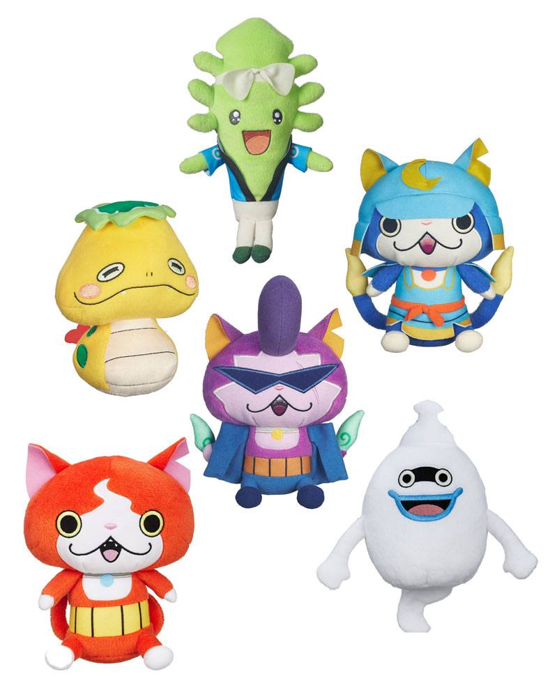 Yo-Kai Watch Plush Figures 12 cm 2016 Wave 3 Assortment (6)