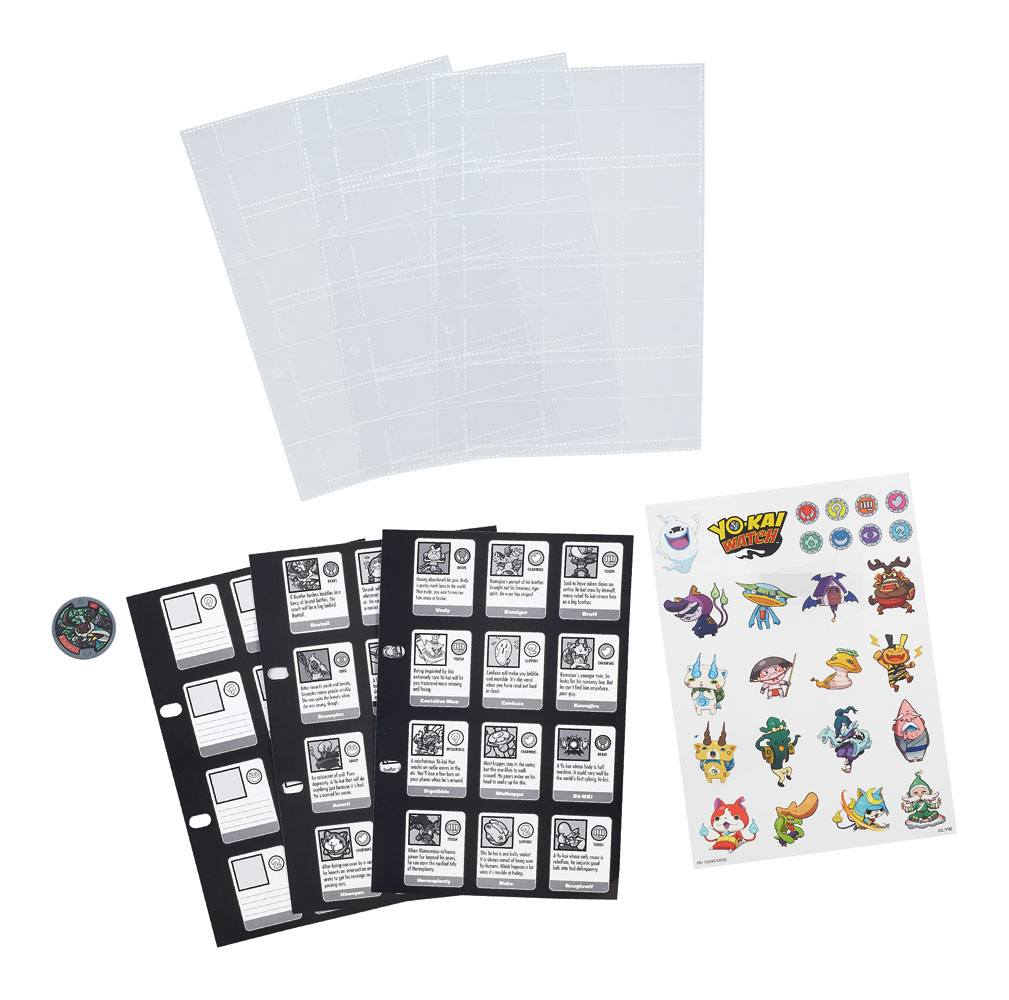 Yo-Kai Watch Collection Book Pages 3-Pack 2016 Series 1 Case (12) - German Version