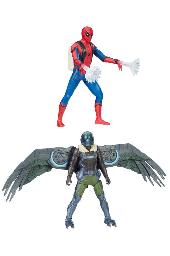 Spider-Man Homecoming Web City Deluxe Action Figures 15 cm 2017 Wave 1 Assortment (4)