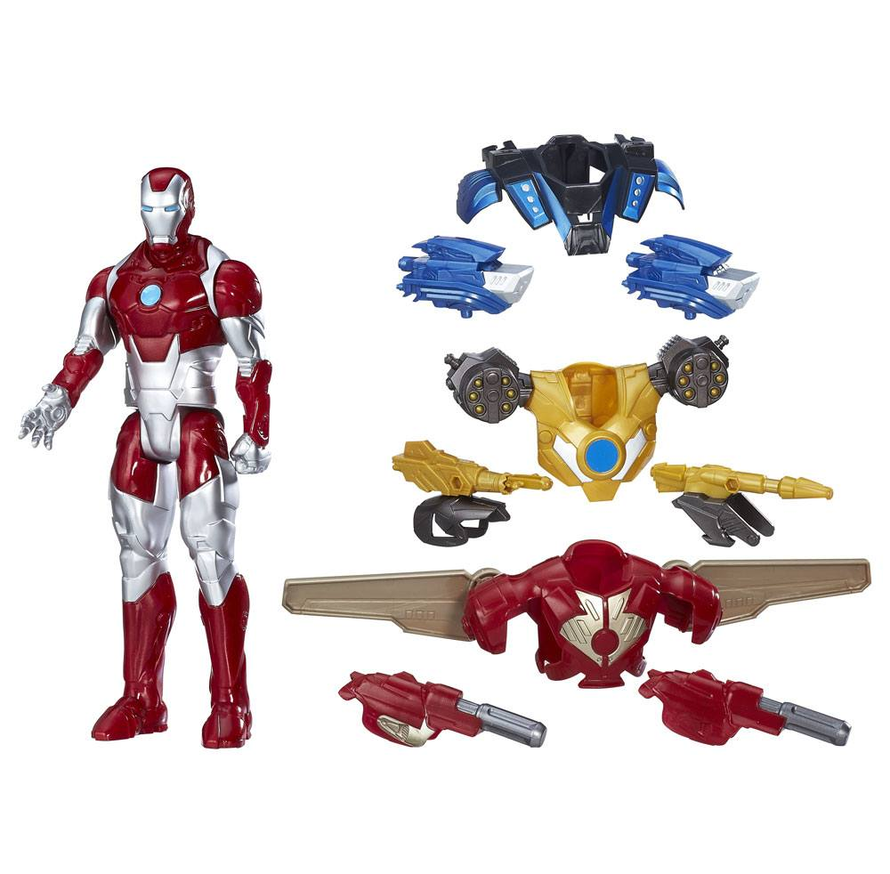Avengers Titan Hero Series Action Figure Combat Gear Iron Man 30 cm
