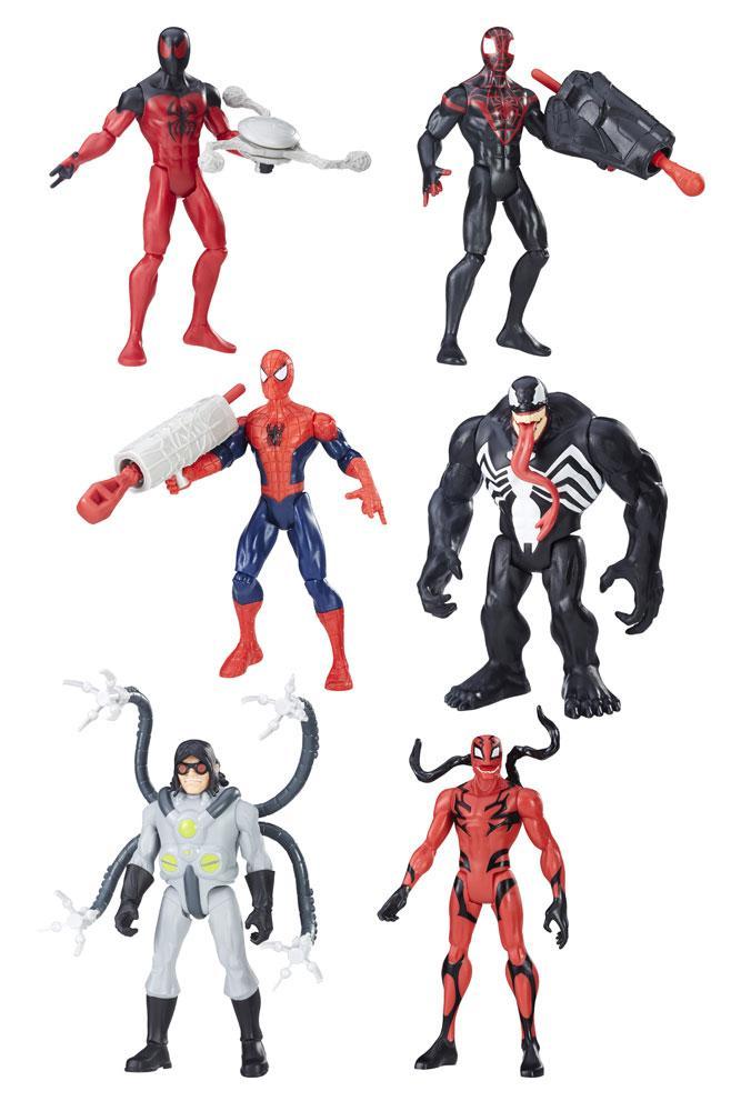 Spider-Man Web City Action Figures 15 cm 2017 Wave 2 Assortment (8)