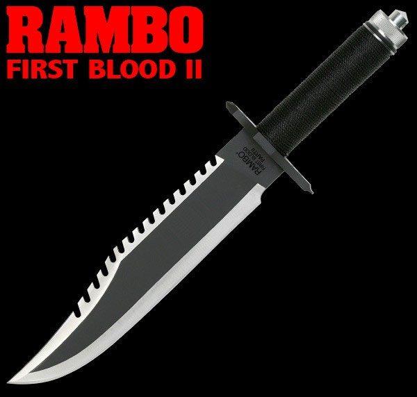 Rambo II First Blood Part II John Rambo Knife Standard Edition 40 cm