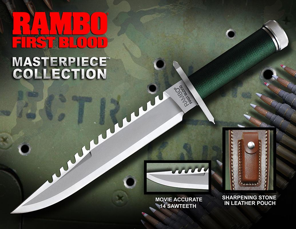First Blood Replica 1/1 Knife Standard Edition 36 cm