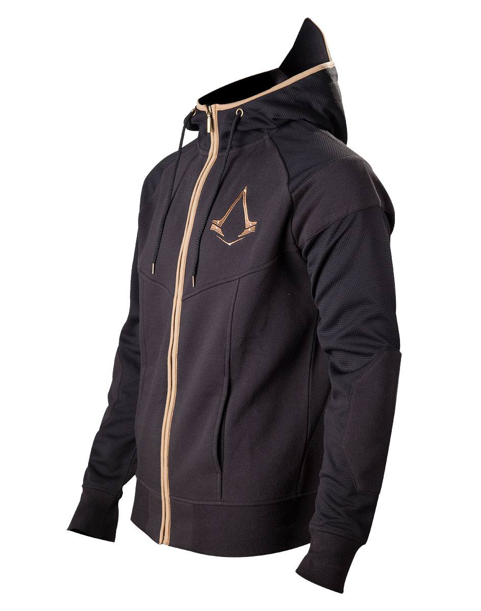Assassin's Creed Syndicate Zipper Hoodie Bronze Logo Size L