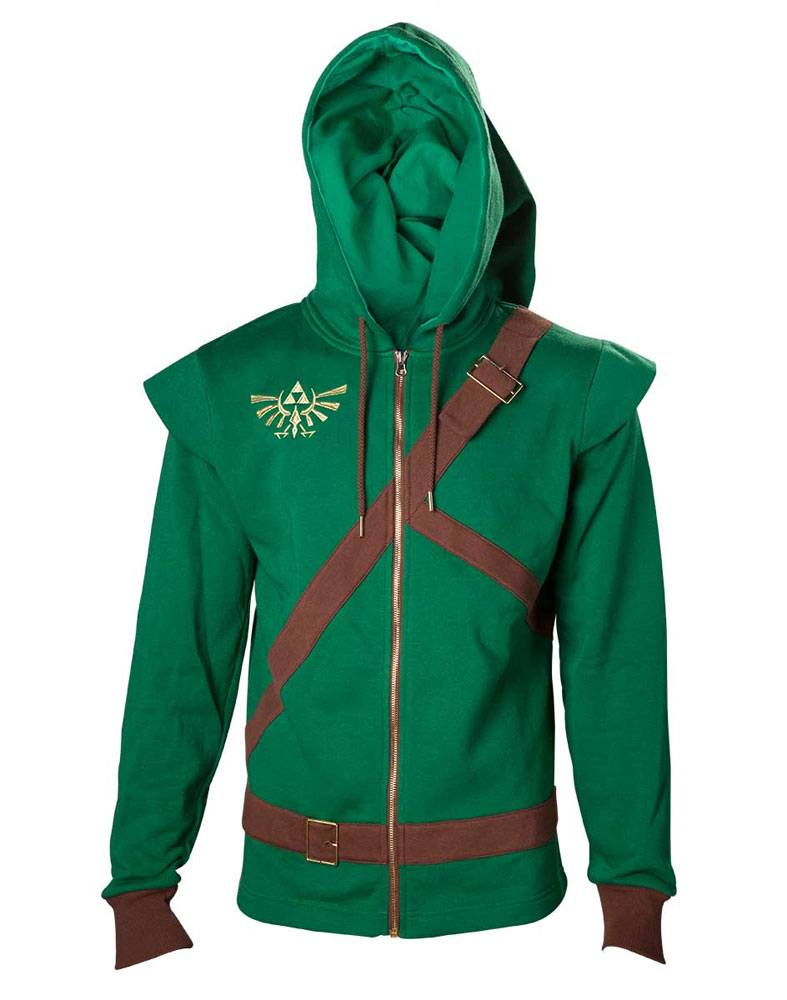 The Legend of Zelda Hooded Sweater Link Cosplay Size XL