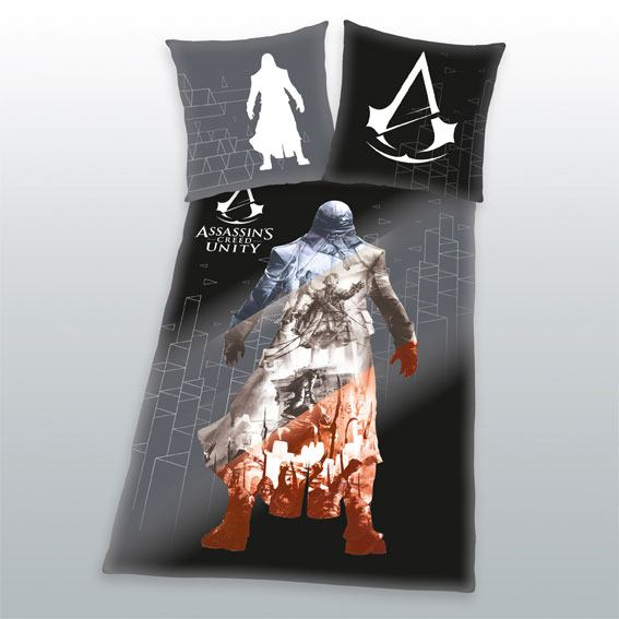 Assassins Creed Duvet Set Unity 135 x 200 cm / 80 x 80 cm