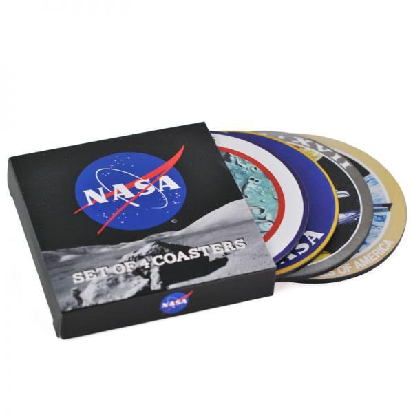 NASA Coaster 4-Pack Badges