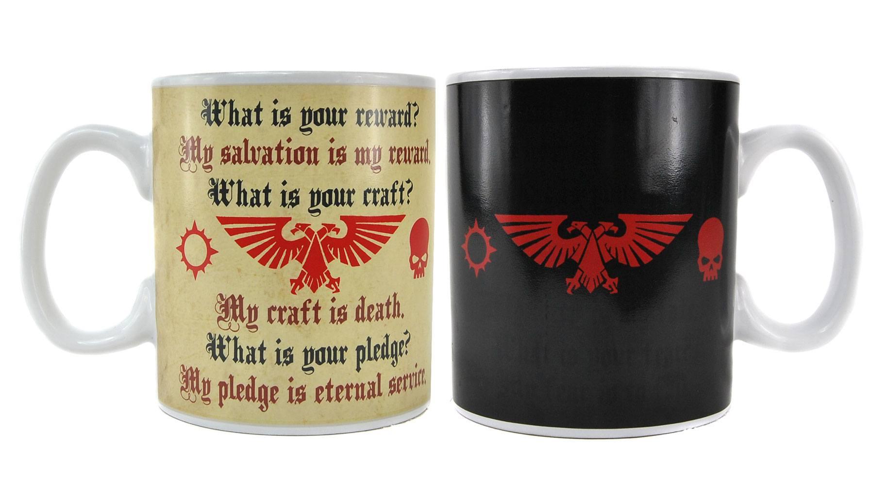 Warhammer Heat Change Mug Pledge