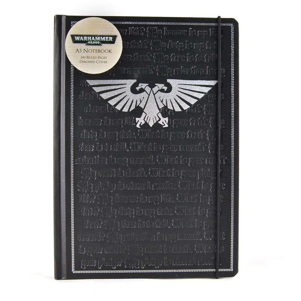 Warhammer A5 Notebook Pledge