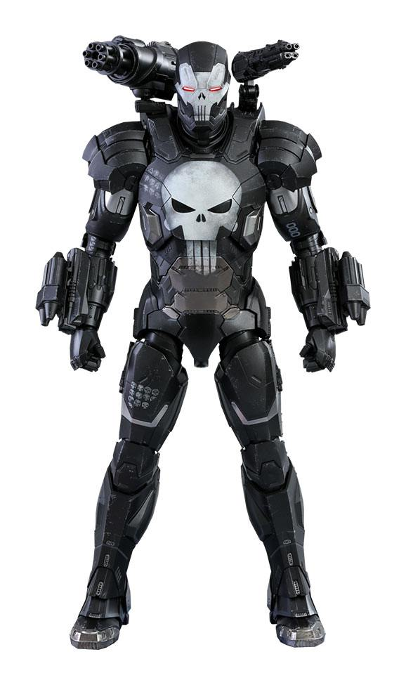 The Punisher War Machine Armor Marvel Future Fight Video Game Masterpiece 1/6 Action Figure by Hot Toys