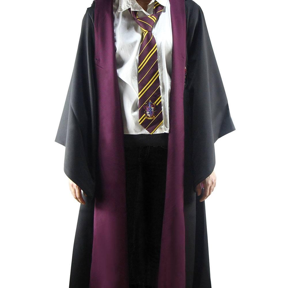 Harry Potter Wizard Robe Cloak Gryffindor Size L