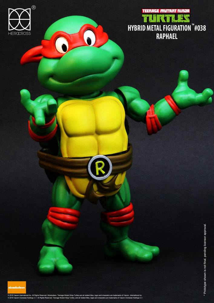 Teenage Mutant Ninja Turtles Hybrid Metal Action Figure Raphael 14 cm