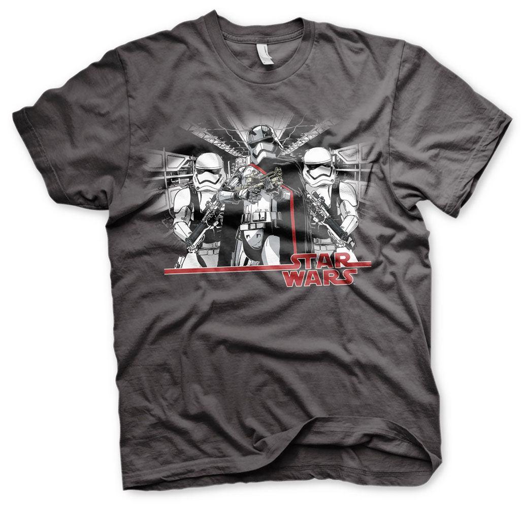 Star Wars Episode VII T-Shirt Captain Phasma Size XL