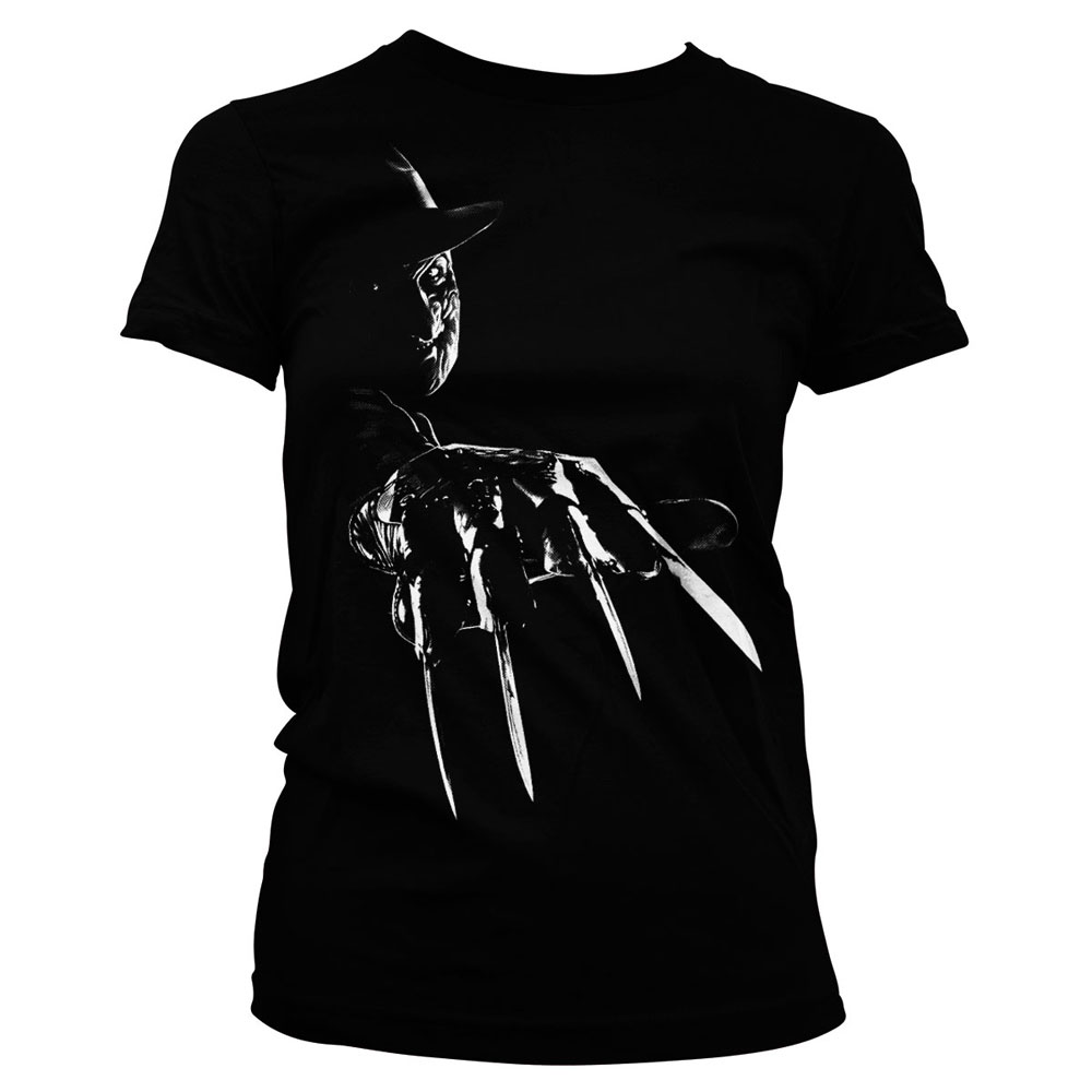 Nightmare on Elm Street Ladies T-Shirt Freddy Krueger Size S