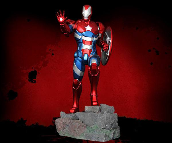 Marvel Comics Statue 1/4 Iron Patriot Comic Version 57 cm