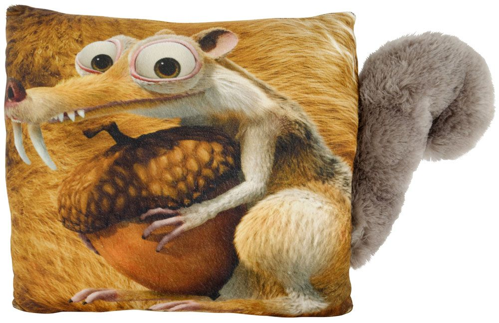 Ice Age Collision Course Pillow Scrat with tail 40 cm